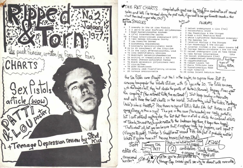 Ripped & Torn Fanzine  2