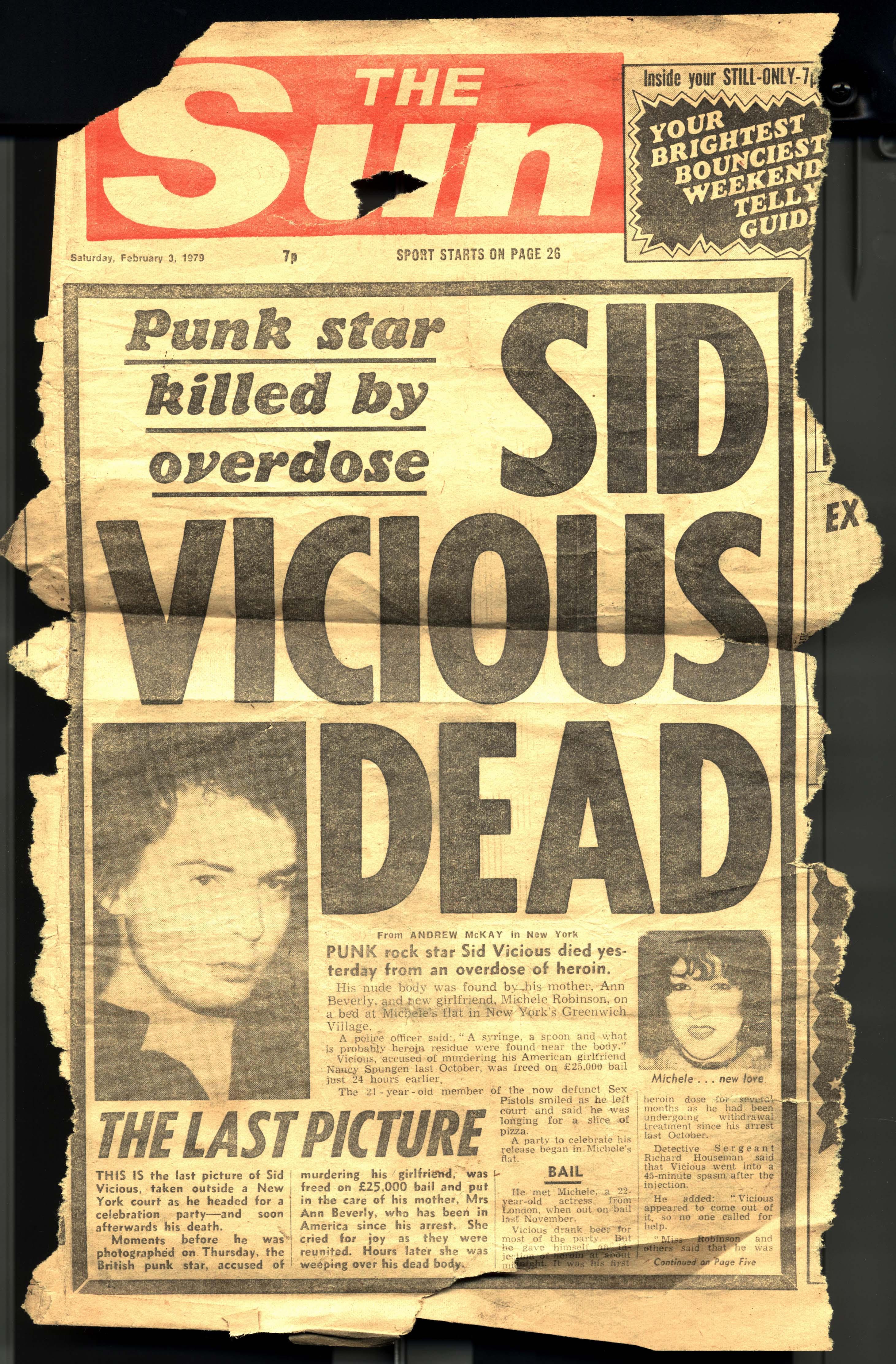 The Sun, February 3es 1979