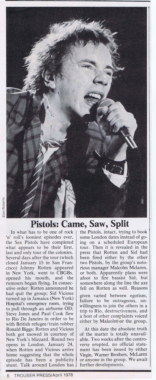 Trouser Press, 1978