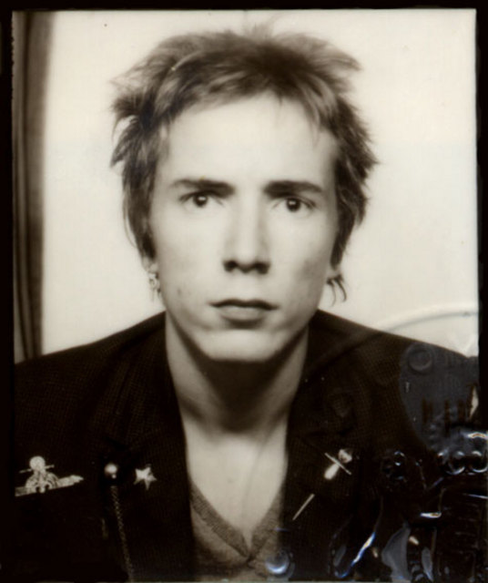 John Rotten passport picture 1977 © John Lydon