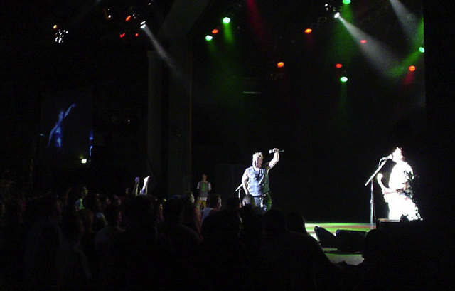 The Joint, Las Vegas, USA 5th September 2003 © Paul Burgess