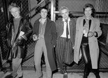EMI Studios, Soho 5th November 1976 (photo Peter Vernon)