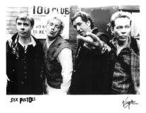 Virgin promo pic - 100 Club 18th March 1996