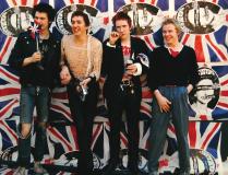Virgin Records, Vernon Yard 23rd May 1977 © Barry Plummer