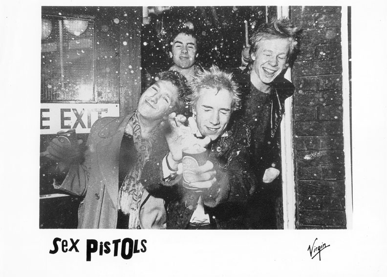 Virgin Promo pic - EMI Studios, Soho 1976 (photo Peter Vernon)