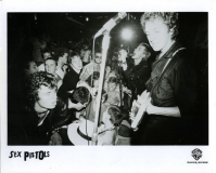 Warner Brothers promo picture 1977 (London 100 Club 1976)