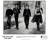 Fineline Films The Filth and The Fury promo picture, 2000 (London, Hyde Park 1977 © Janette Beckman)